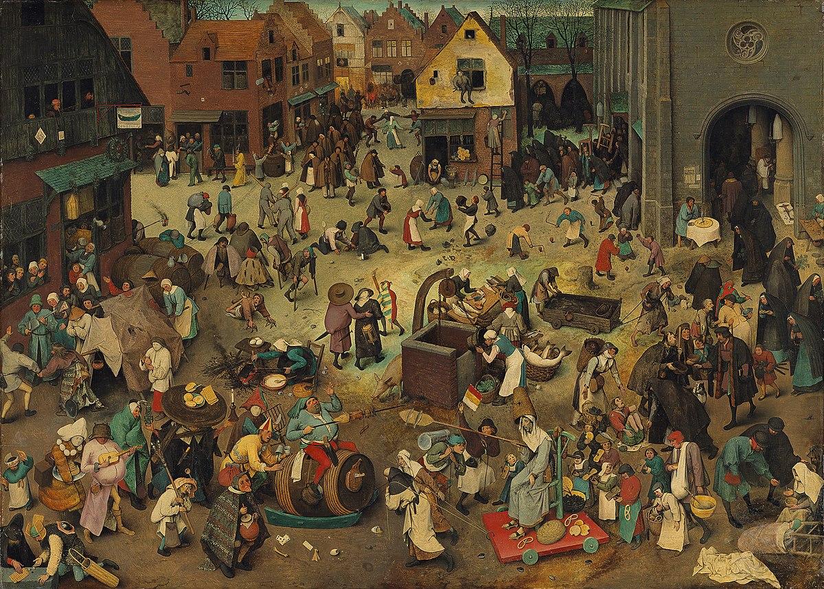 Pieter Brueghel vanhempi: The Fight Between Carnival and Lent