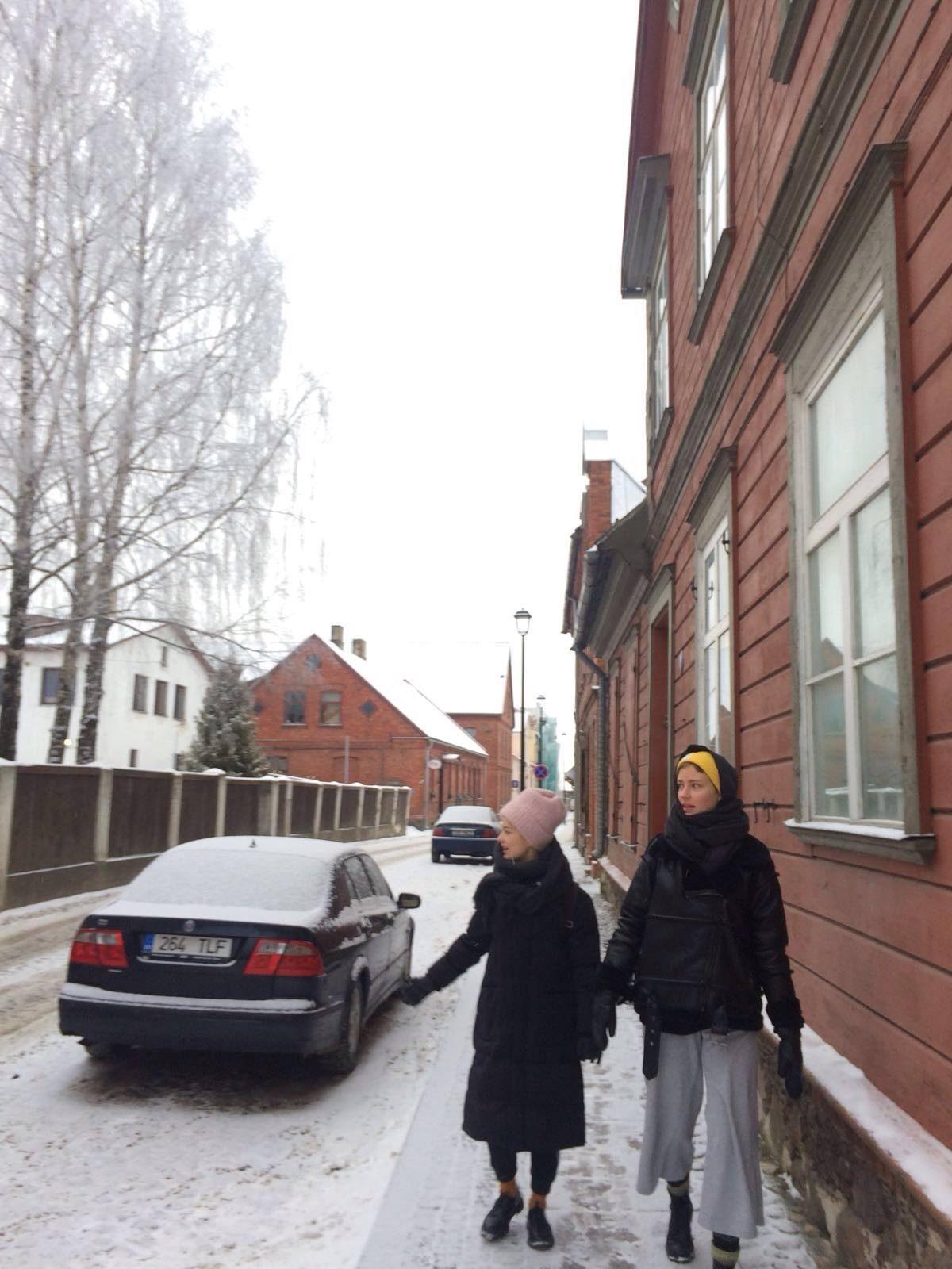 Nätyläiset expresskurssilla Viljandissa