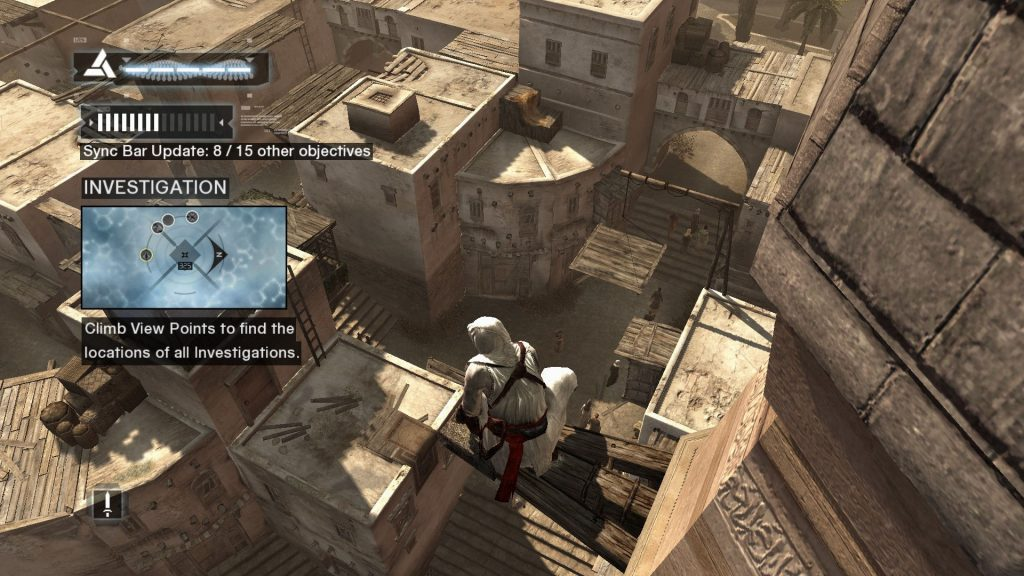 Asssassin's Creed (Ubisoft, 2007, with UI and without)