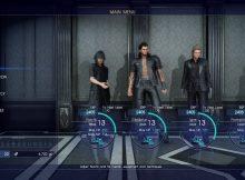 Final Fantasy XV crew