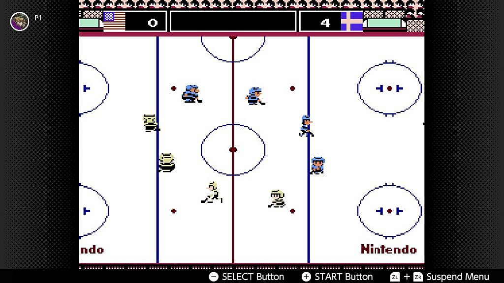 Hockey circle