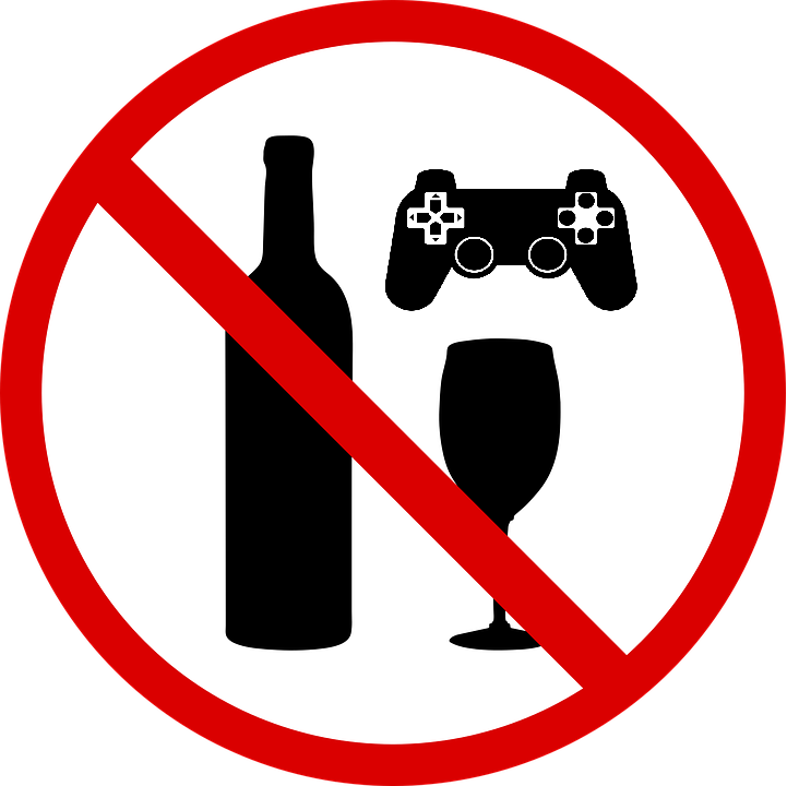 Don't drink and game