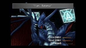 A screenshot of Guardian Force in Final Fantasy 8