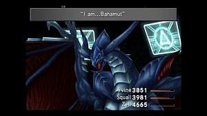 Guardian Force Bahamut talking in Final Fantasy 8