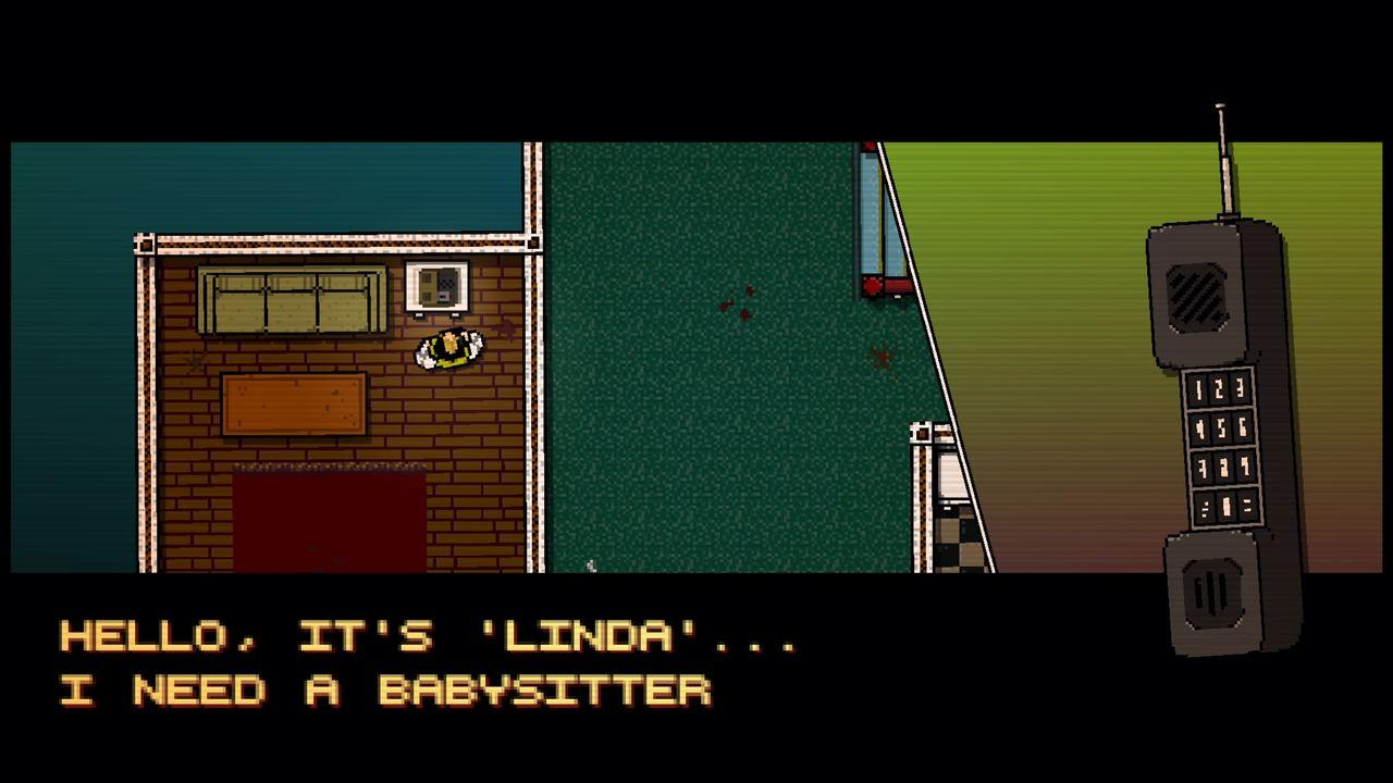 Dialogue screen giving instructions about the mission.