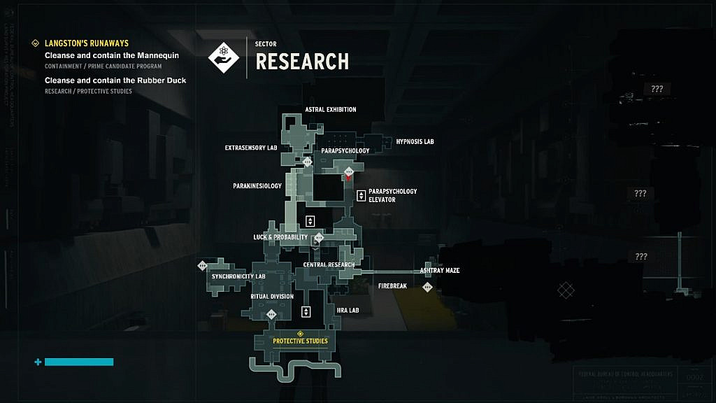 A large and complicated map of the research sector
