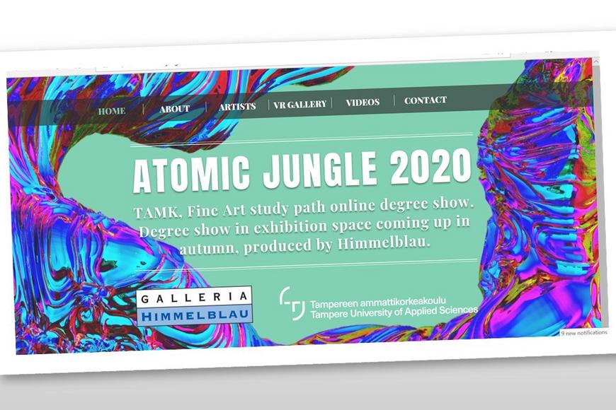 Atomic Jungle 2020 TAMK Fine Art