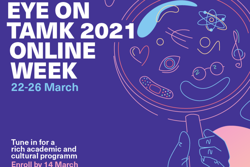 Eye on TAMK 2021-enroll