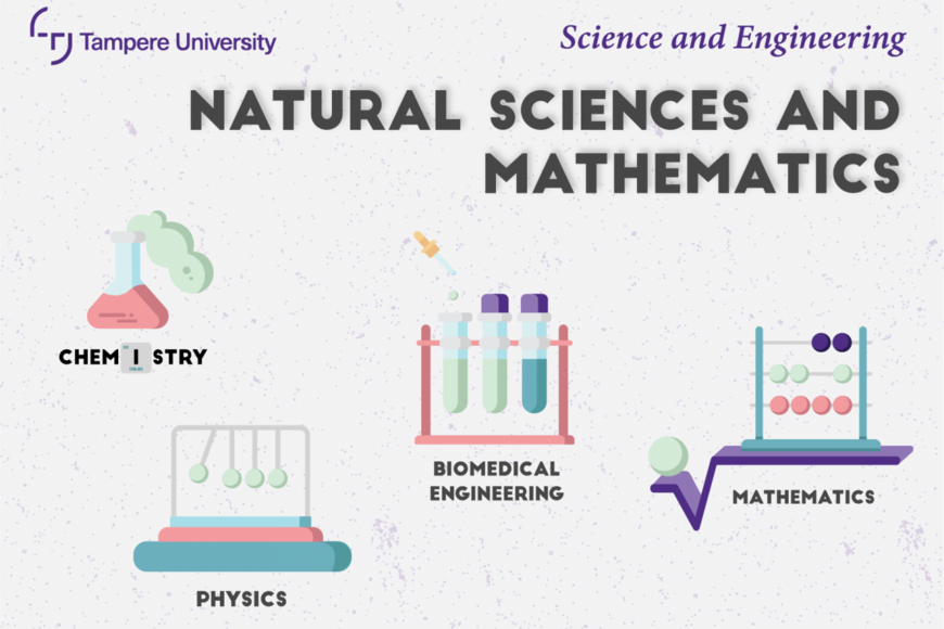 majors: Mathematics, Physics, Chemistry and Biomedical Engineering