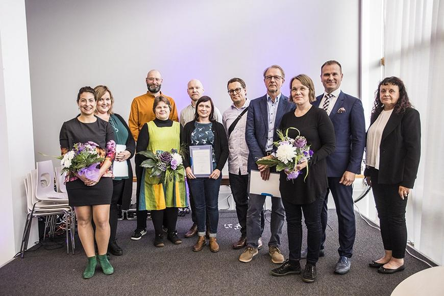 Awards for societal impact  - photo by Jonne Renvall
