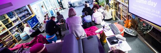 OASIS is a social learning space and living lab at the University of Tampere.