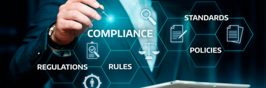 Medical regulatory words: compliance, standards, policies and regulations