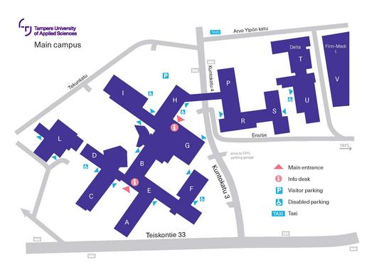 Tamk Main Campus Tampere Universities