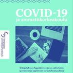 Covid-19 ja ammattikorkeakoulu -julkaisun kansi