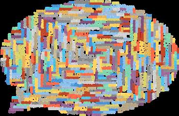 Kuvituskuva: puhekupla, joka muodostuu erikielisistä tervehdyksistä.
